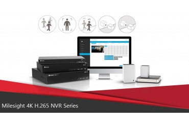 Milesight 4K H.265 NVR Series